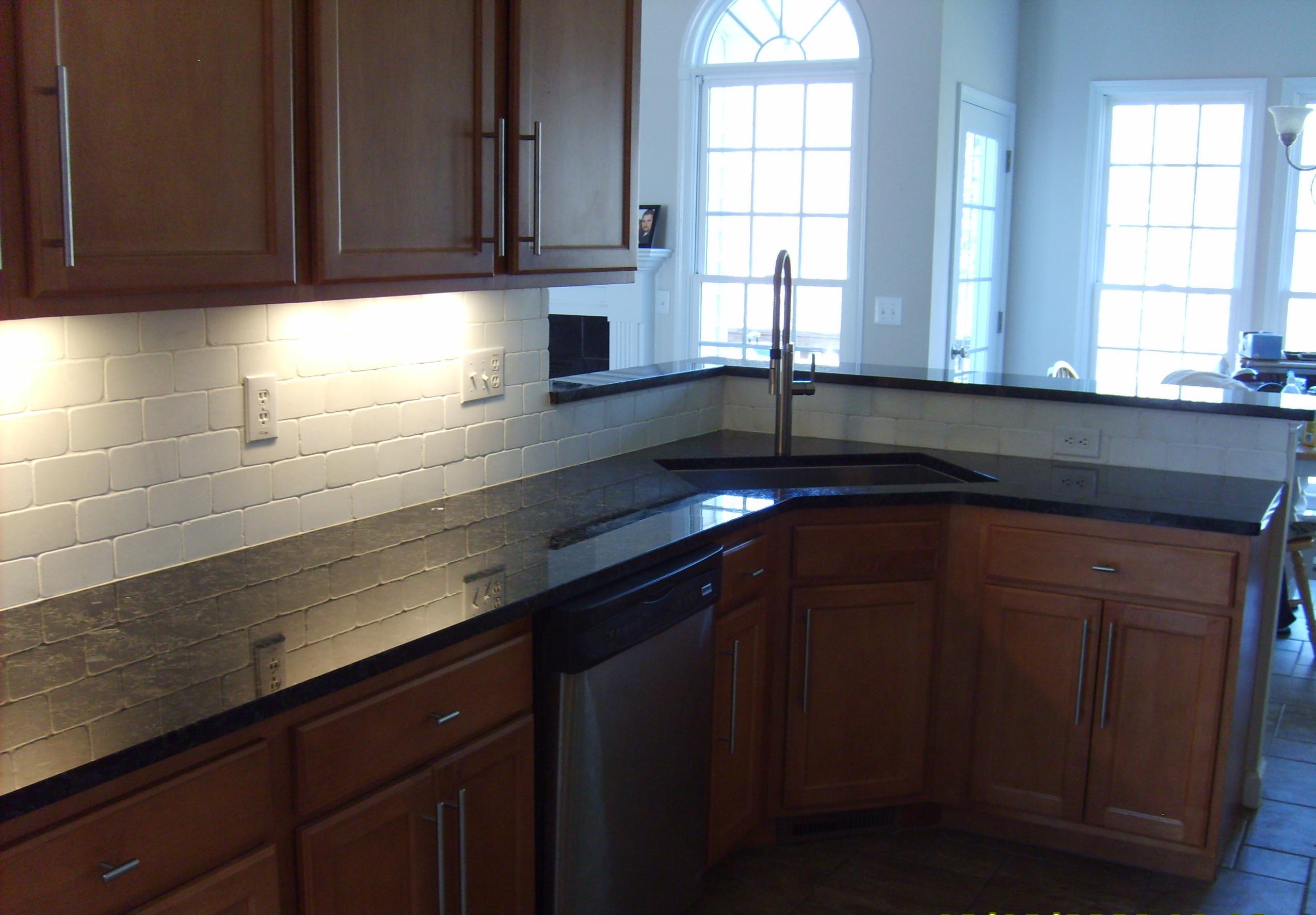 Backsplash Tile Granite Marble Stone Wood Laminate